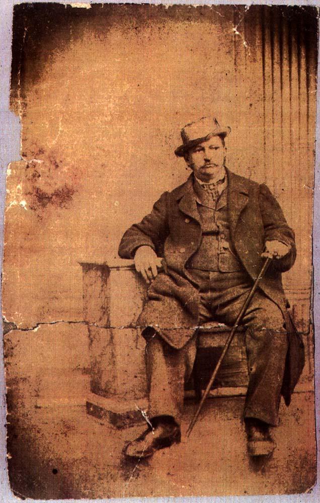 August Schaaf, Gründer der Familie Schaaf im Prater 1866