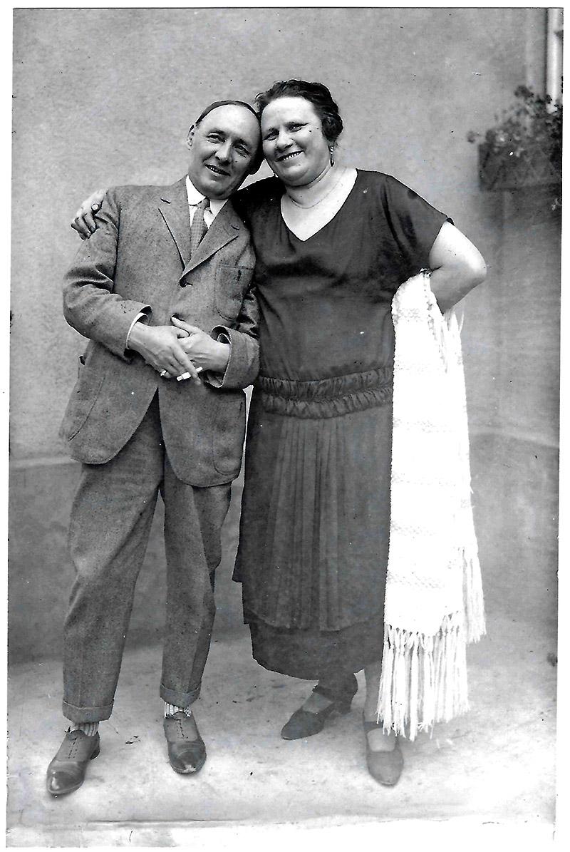 Elise Kobelkoff und Ehemann Alexander
