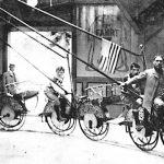 Fahrradkarussell, Prater 117 (heute 68), 1905