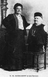 Anna Kobelkoff und Ehemann Nikolai