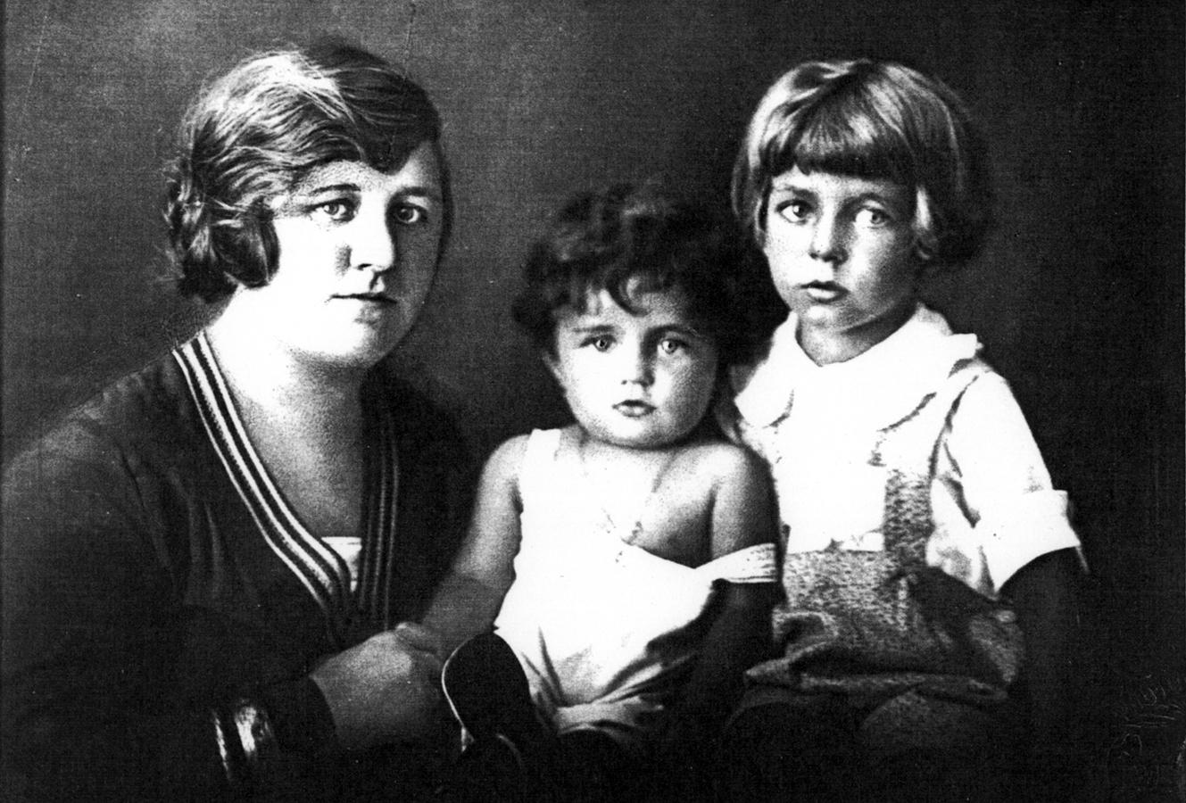 Helene Schaaf, Tochter Liselotte und Sohn Alexander