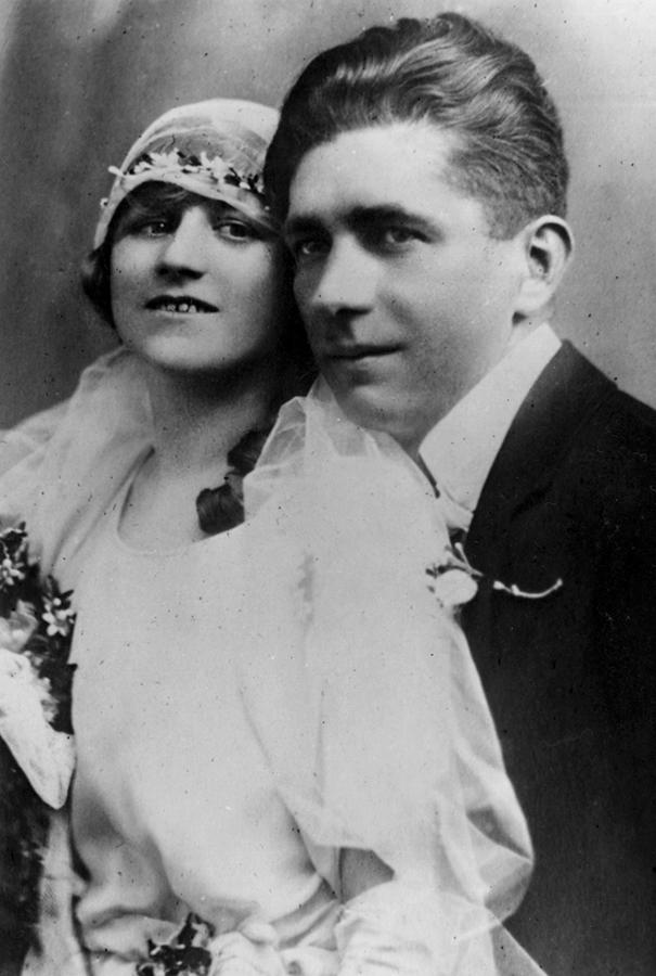 Helene Schaaf und Ehemann Karl