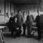 Karl Schaaf und seine Mitarbeiter
