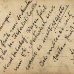 Ansichtskarte von Albert Kobelkoff an seine Verlobte Anna
