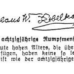 Nikolai Kobelkoff, Schriftprobe